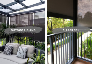ZipScreen vs Outdoor Blinds