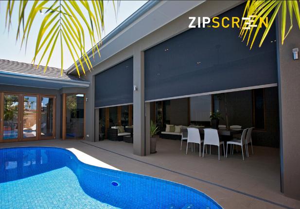 ZipScreen the Origin Zip Blinds from Australia