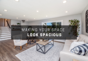 Smart Tricks: Making your space look Spacious!