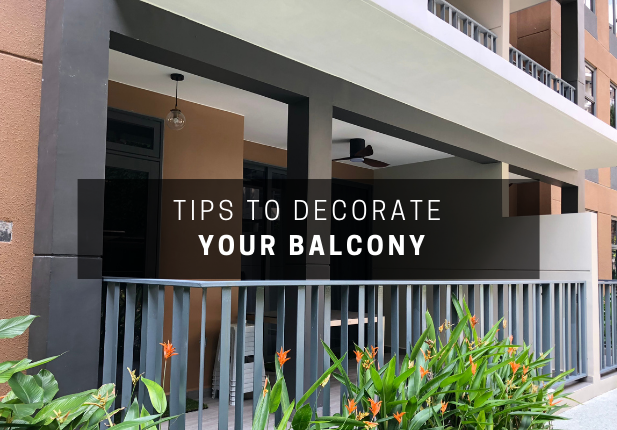 Tips to Decorate Your Living Balcony